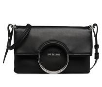 Sac bandoulière à rabat noir JC4352PP05K7 Handtasche in schwarz