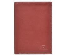 TOURAINE Portefeuille poche zip 2 volets Portemonnaies & Clutches für Taschen in rot