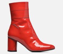 Pastel Affair Boots #2 Stiefeletten & in rot
