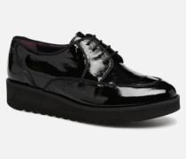 DUSTY Schnürschuhe in schwarz