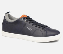 MARTON BASIC Sneaker in blau
