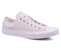 Chuck Taylor All Star Mono Plush Suede Ox Sneaker in lila
