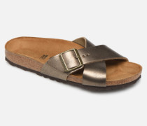 Siena Cuir W Clogs & Pantoletten in goldinbronze