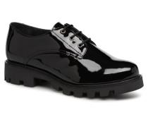 CallyinV Schnürschuhe in schwarz