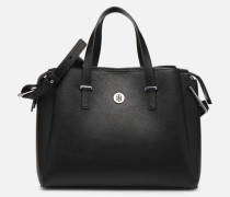 TH CORE SATCHEL Handtasche in schwarz
