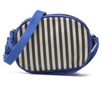 Micro Sac Rayé Handtasche in blau