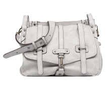 Bernadette Satchel Bag Handtasche in grau