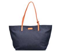 Shopper Handtasche in blau