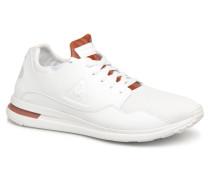 R Pure LeatherinTech Mesh Sneaker in weiß