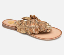 44764 Clogs & Pantoletten in goldinbronze