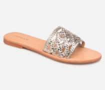 WEB Clogs & Pantoletten in goldinbronze