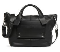 Satchel M Handtasche in schwarz