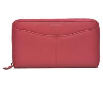 VALENTINE Portemonnaie long zippé in rosa
