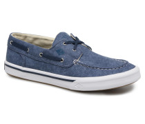 Bahama II Boat Washed Sneaker in blau