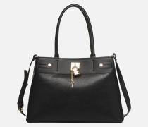 GENUALDI Handtasche in schwarz