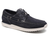 Langdon 3 Eye Ox Schnürschuhe in blau