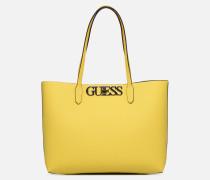 UPTOWN CHIC BARACELON TOTE Handtasche in gelb