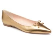 Clarisse Ballerinas in goldinbronze