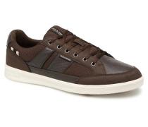 Jack & Jones JFW Rayne Mesh Mix Sneaker in braun