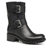 Biker 4 Mini Strap Stiefeletten & Boots in schwarz
