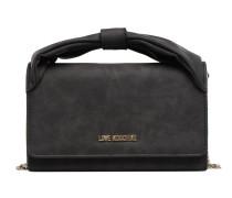 Crossbody Nœud Chaine Mini Bag in schwarz