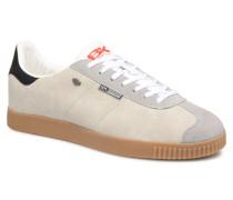 Point Sneaker in grau