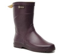 Bison Lady Stiefeletten & Boots in lila