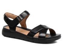 Un Saffron Sandalen in schwarz