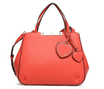 Britta Small Society Satchel Cœur Handtasche in rot