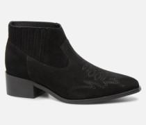 TOBIA LEATHER BOOT Stiefeletten & Boots in schwarz