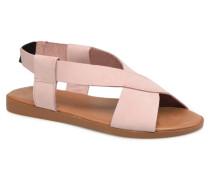 MALU LEATHER SANDAL Sandalen in rosa