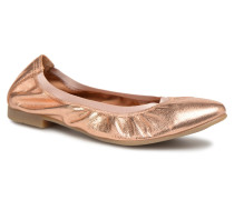 ROSSELA Ballerinas in goldinbronze