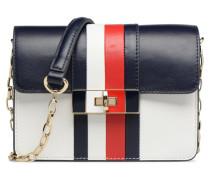 CORPORATE LOCK LEATHER CROSSOVER Handtasche in mehrfarbig
