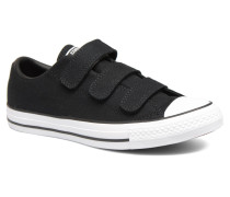 Chuck Taylor All Star 3V Canvas Ox Sneaker in schwarz