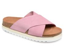 Lisa Leather Sandal Clogs & Pantoletten in rosa