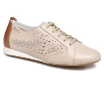 Belisa Perf Sneaker in beige