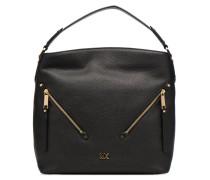 Evie LG Hobo Handtasche in schwarz