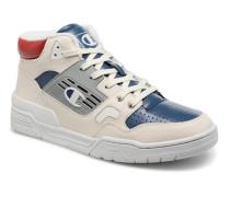 Mid Cut Shoe 3 ON LEATHER Sneaker in weiß