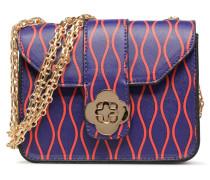 Crossbody Monpetitsac Jacinthe Handtasche in blau