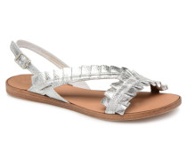 Mindy leather sandal Sandalen in silber