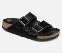 Arizona Fourrure Clogs & Pantoletten in schwarz