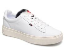 FUNNY FUR STAR SNEAKER Sneaker in weiß