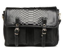 MATHS PYTHON REVERSIBLE Handtasche in schwarz