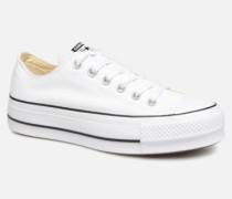Chuck Taylor Lift Ox Sneaker in weiß