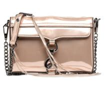 MIRRORED METALLIC MINI MAC Handtasche in goldinbronze