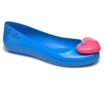 Space love Ballerinas in blau