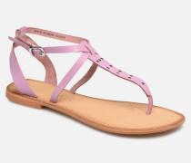 Isabel leather sandal Sandalen in lila