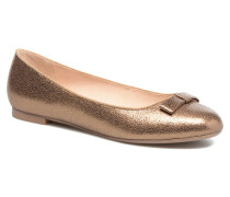 Baless Ballerinas in goldinbronze