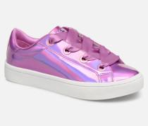 HiLite Liquid Bling Sneaker in rosa