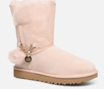 Classic Short Charms Stiefel in rosa